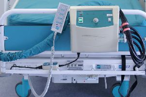 File photo dated 15/08/14 of a hospital bed (Picture: Lynne Cameron/PA Wire)