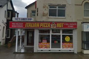 Italian Pizza Hot in Cleveleys (Picture: Google Maps)
