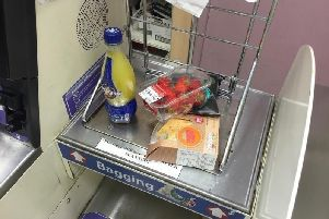 Self service checkouts