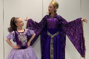 Rainbow Dance and Theatre School in rehearsals for Snow White