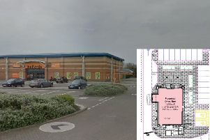 A Costa Coffee could be built next to Halfords in South Shore
