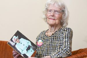 Elise Harrold, of Bispham, who has celebrated her 100th birthday