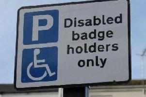 Blue badges have to be renewed every three years