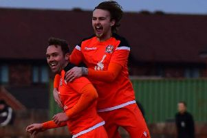AFC Blackpool lost against Golcar United        Picture: Adam Gee