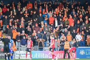 Were you among the 741 Blackpool fans at Sincil Bank on Saturday?