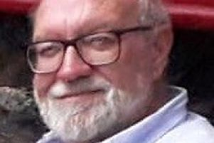 Gerald Corrigan, 74, who was shot as he adjusted the satellite dish outside his house