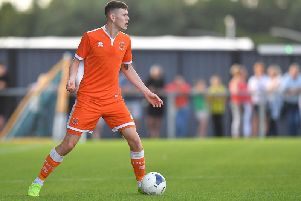 Ben Tollitt was given another outing for Blackpool's reserve side