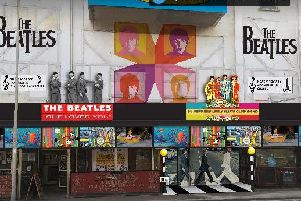 Plans for Hamish Howitt's Scots Bar, Rigby Road which will undergo a conversion into a Beatles themed pub