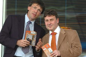 Karl Oyston (left) and Valeri Belokon
