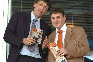 Karl Oyston and Valeri Belokon