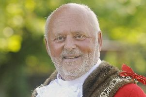 Fylde mayor Coun John Singleton