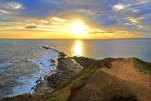 An alarm that replicates sunrise could be the answer to the winter blues. Filey Brigg by Tony Johnson.