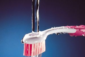 The caller swallowed toothpaste