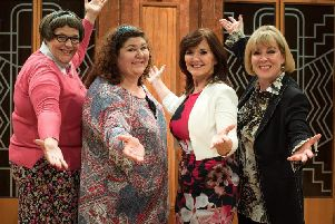 From left, Rebecca Wheatley, Cheryl Fergison, Maureen Nolan and Hilary ONeil in Menopause The Musical