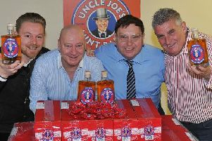 Gareth Winnard, Antony Winnard, John Winnard and Tony Callaghan