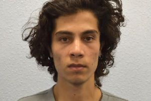 Iraqi asylum seeker Ahmed Hassan, 18, plotted to cause carnage in central London 'Photo: PA
