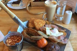 Full English on a spade