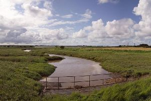 Halites proposed gas storage  site on the River Wyre.