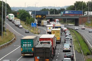 This is a common sight on the M6