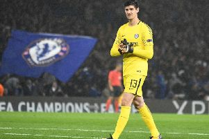 Chelsea goalkeeper Thibaut Courtois looks set for a move away from Stamford Bridge