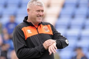 It's time for goals says Blackpool's Terry McPhillips
