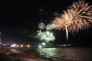 The annual fireworks championship started last night
