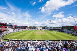 Lancashire's Old Trafford ground will host Second Division games next summer
