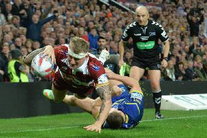 Dom Manfredi's second try sealed Wigan's Grand Final win