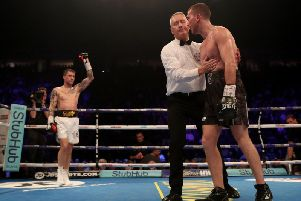 Cardle was stopped in the third round by Ricky Burns on Saturday night