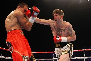 Brian Rose made a winning return to the ring in Manchester on Friday