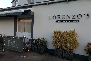 Lorenzo's restaurant in Freckleton