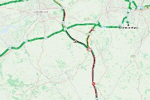 M6 southbound closed following serious early morning collision - live updates