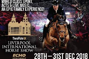 WIN Two Silver Family tickets to celebrate New Years Eve at the TheraPlate UK Liverpool International Horse Show!!