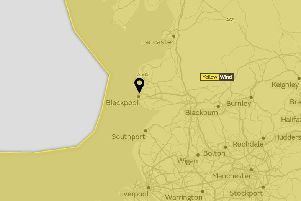 Yellow weather warning extended as heavy rain and wind forecast to hit Blackpool tomorrow