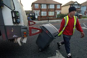 Waste collections have been moved in house to save money