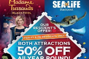 Madame Tussauds and Sea Life Centre Local Residents' Offer!