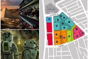The full site plan and what the 'Chariots Of The Gods' masterplan could mean for local jobs and visitor numbers in Blackpool