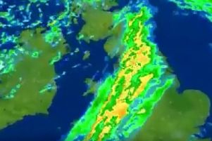 This unusual weather phenomenon is set to dump TORRENTIAL rain on Blackpool TODAY