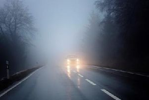 Fog or freezing fog patches have been forecast for Christmas Day.