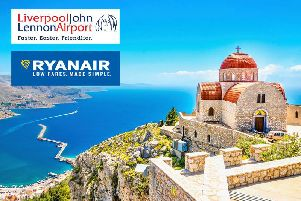 To celebrate Ryanairs two new routes from Liverpool John Lennon Airport here is your chance to win flights to Corfu (pic) or Copenhagen!