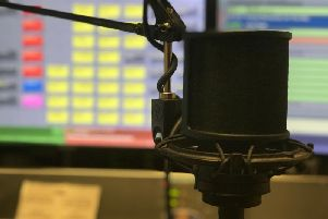 Chorley 102.8 FM studio - Nicola is on air Sundays 9am until noon. You can access online via chorley.fm
