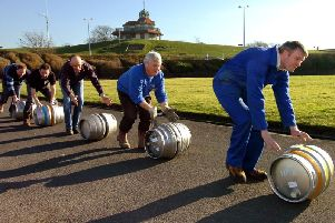 Rolling out the barrels for Fleetwood Beer and Cider Festival