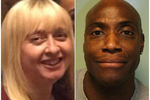 Karen Peter whose husband, Thomas Peter, has been found guilty of her murder at the Old Bailey, London.