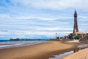The weather in Blackpool is set to be dull today, as forecasters predict cloud throughout most of the day