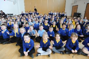 Pupils at Christ The King have been learning to sign and sing a song to support Deaf Awareness and Deaf Children in Education