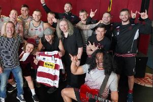 Wigan Warriors with the AC-DC Experience