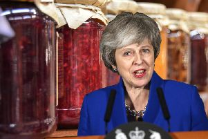 Mrs May apparently told colleagues her tips