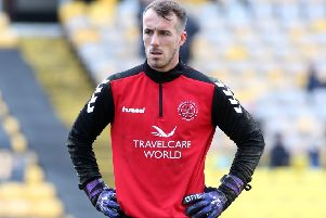 Alex Cairns was backed by Fleetwood Town team-mate Ross Wallace
