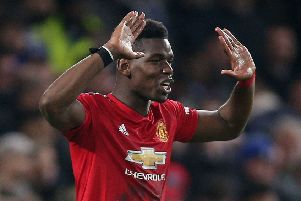 Paul Pogba made a goal and scored the other