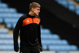 Elias Sorensen has struggled for game time since joining Blackpool on loan